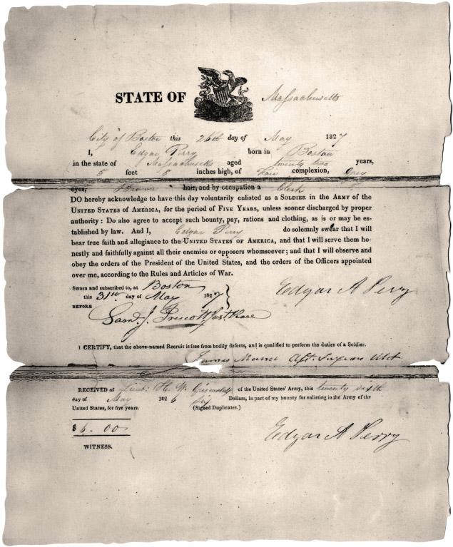 Certificato di arruolamento