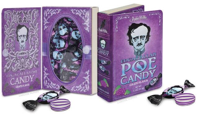 Edgar Allan Poe Candy Book