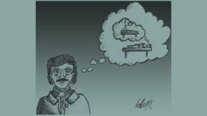 Poe disegnato da lollo92