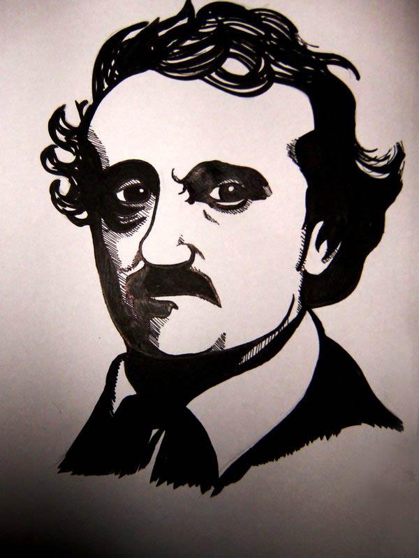 Ritratto di Poe di Gabriel