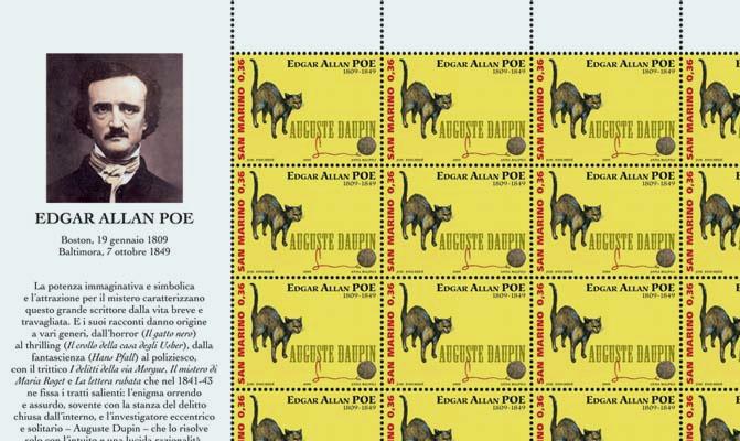 Un francobollo per Poe da San Marino