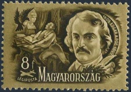 Un francobollo per Poe dall'Ungheria