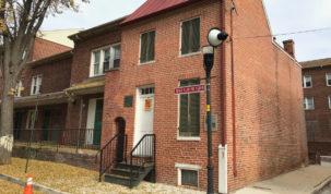 La casa di Poe a Baltimora