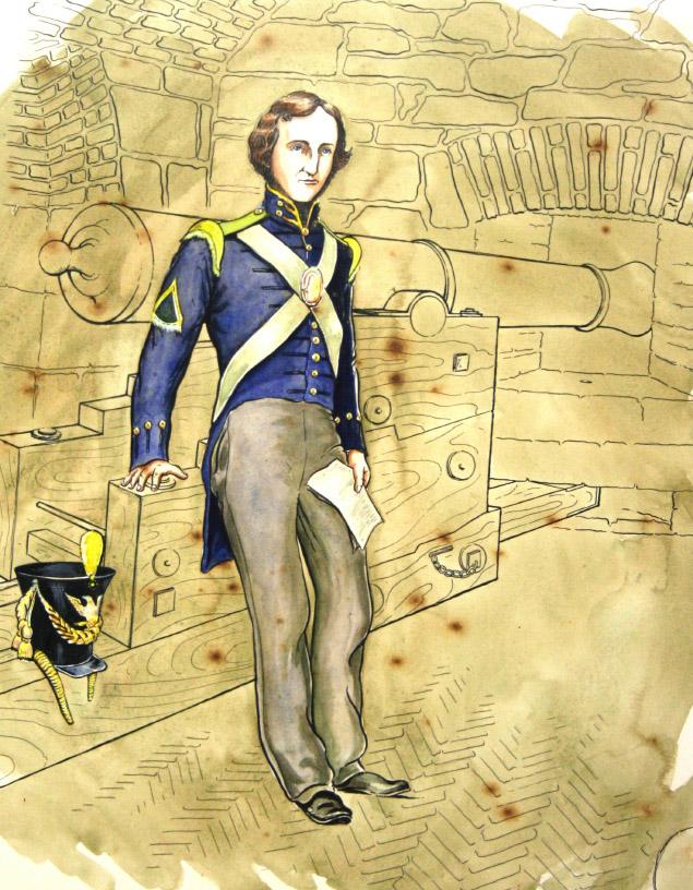 Poe a Fort Monroe