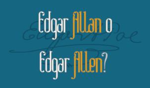Edgar Allan o Edgar Allen?