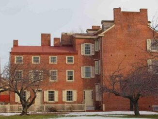La casa di Poe a Filadelfia