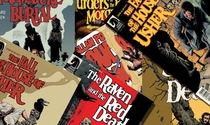 Poe nei fumetti di Richard Corben