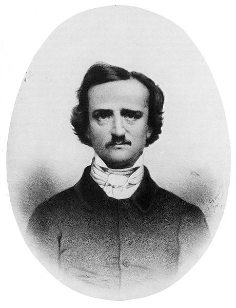 Litografia di Poe di Perrassin