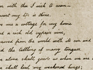 La poesia acrostica di Virginia a Poe