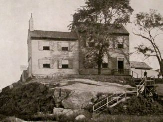 La casa di campagna in cui visse Poe
