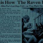 Necrologi anonimi per la morte di Poe