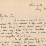 Una lettera di Poe venduta all'asta per 125.000 dollari