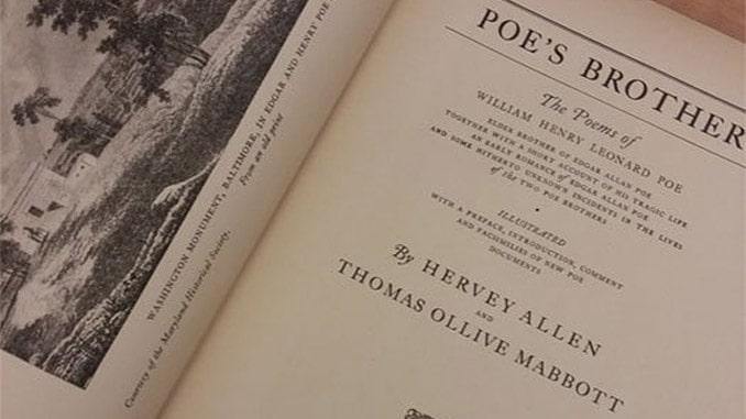 Gli scritti di William Henry Poe