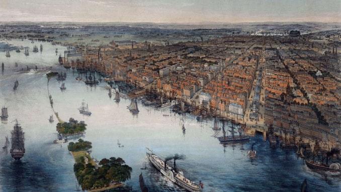Filadelfia nel 1840